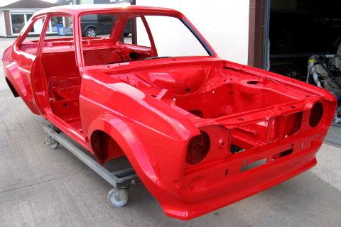 Rally Car Preparation