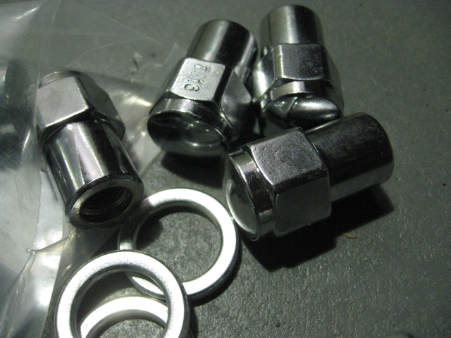 7 16 UNF RS ALLOY WHEEL NUTS