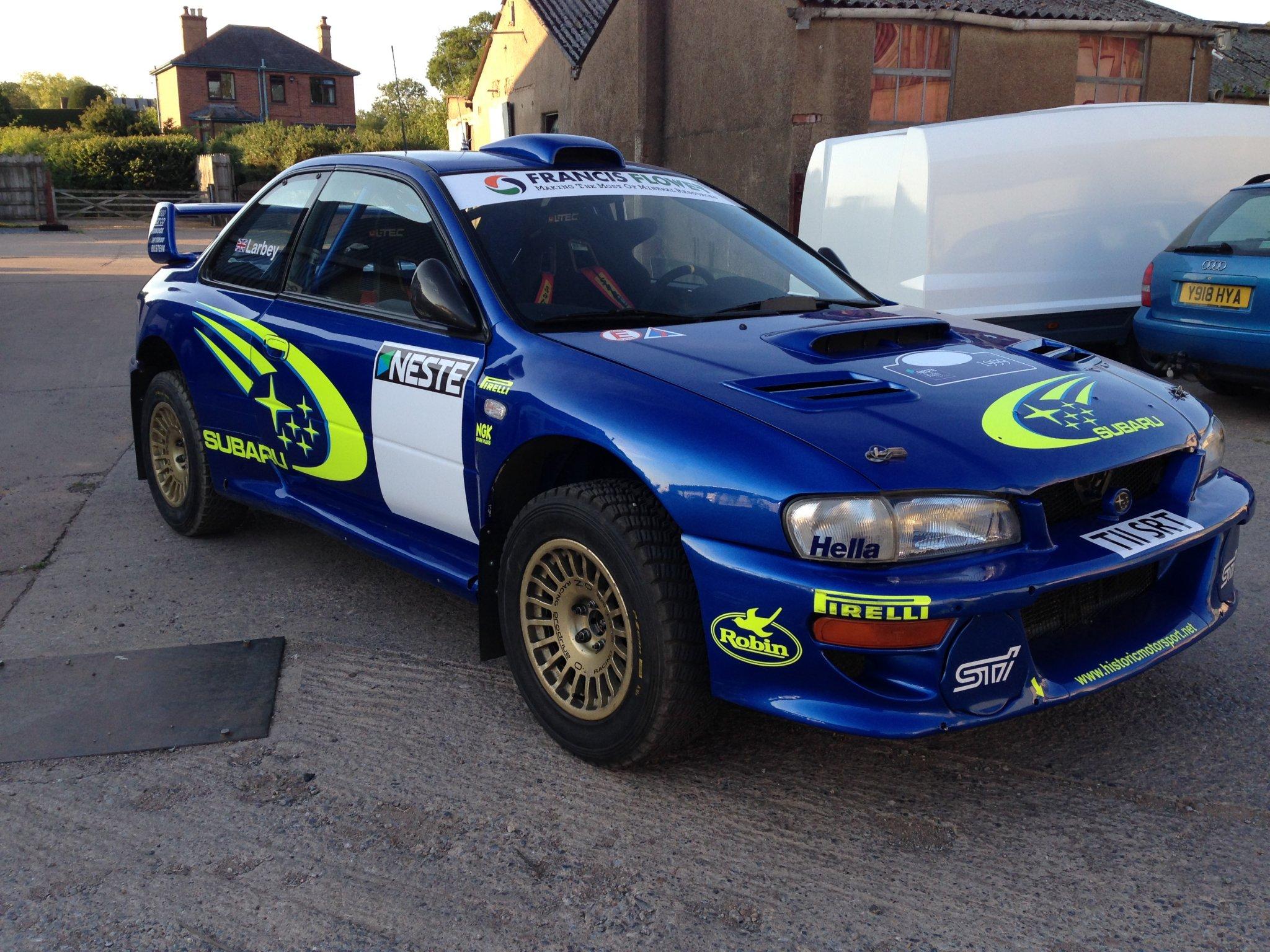Electrical Motor Car >> S5 WRC SUBARU IMPREZA | Historic Motorsport