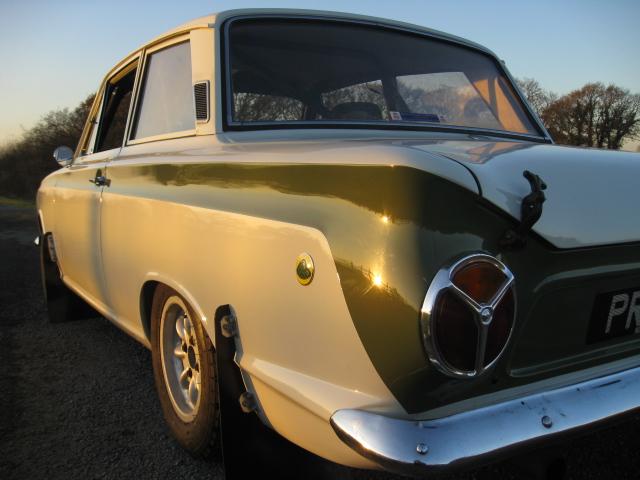 FORD MK1 LOTUS CORTINA FIA HISTORIC SPEC RALLY CAR