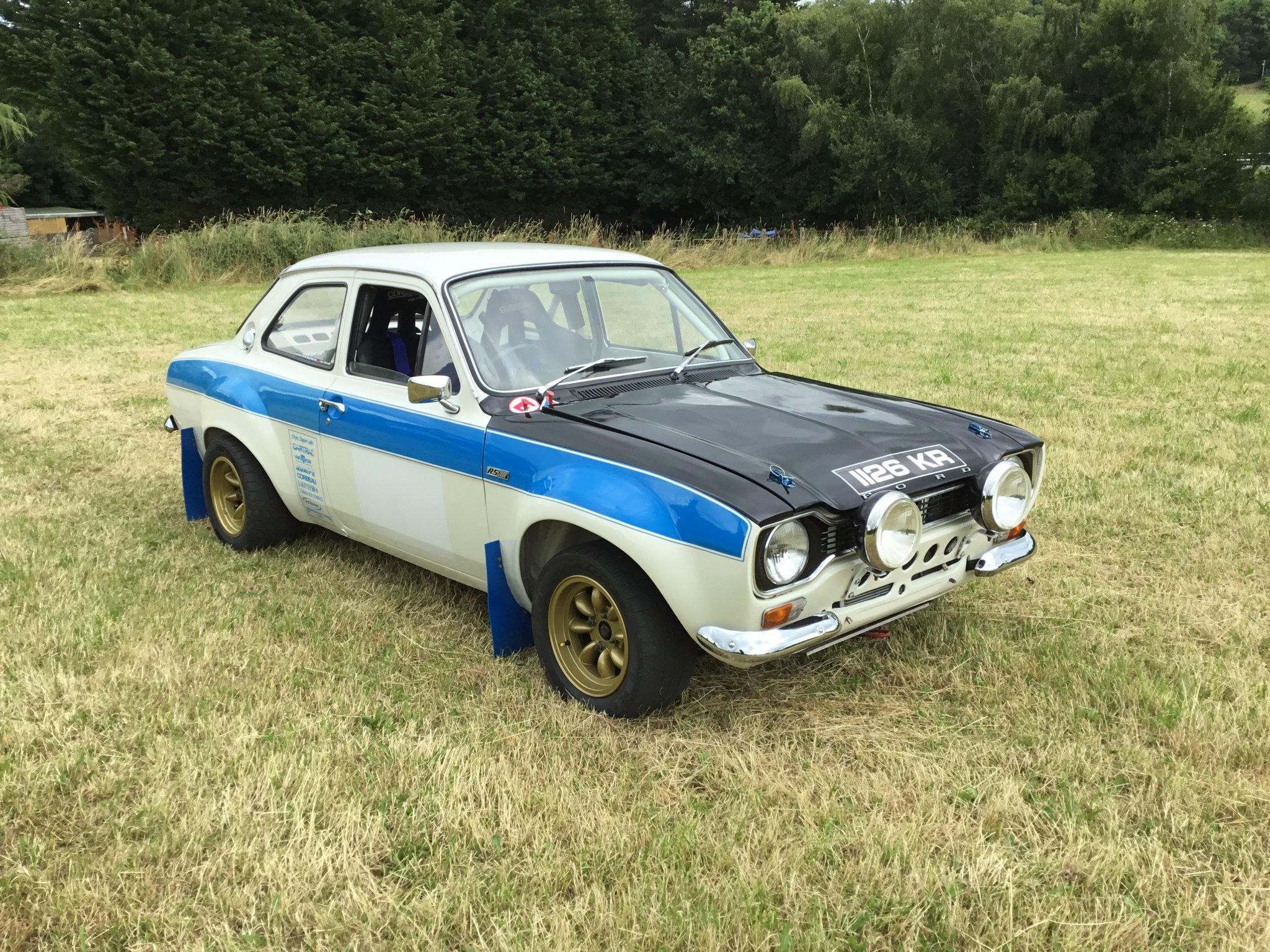 Ford escort mk1 historic rally car