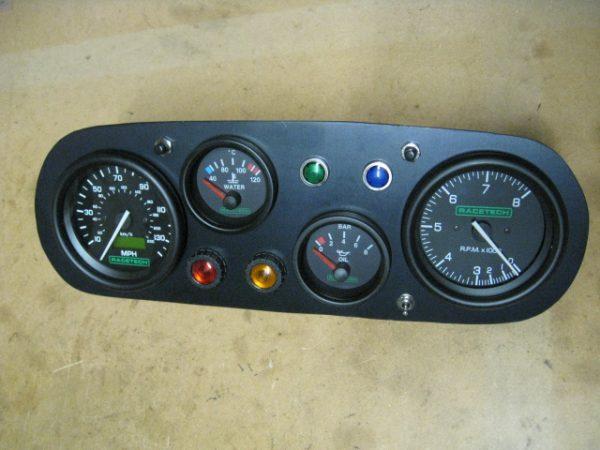 Mk1 Escort Dash Plate With Gauges Historic Motorsport
